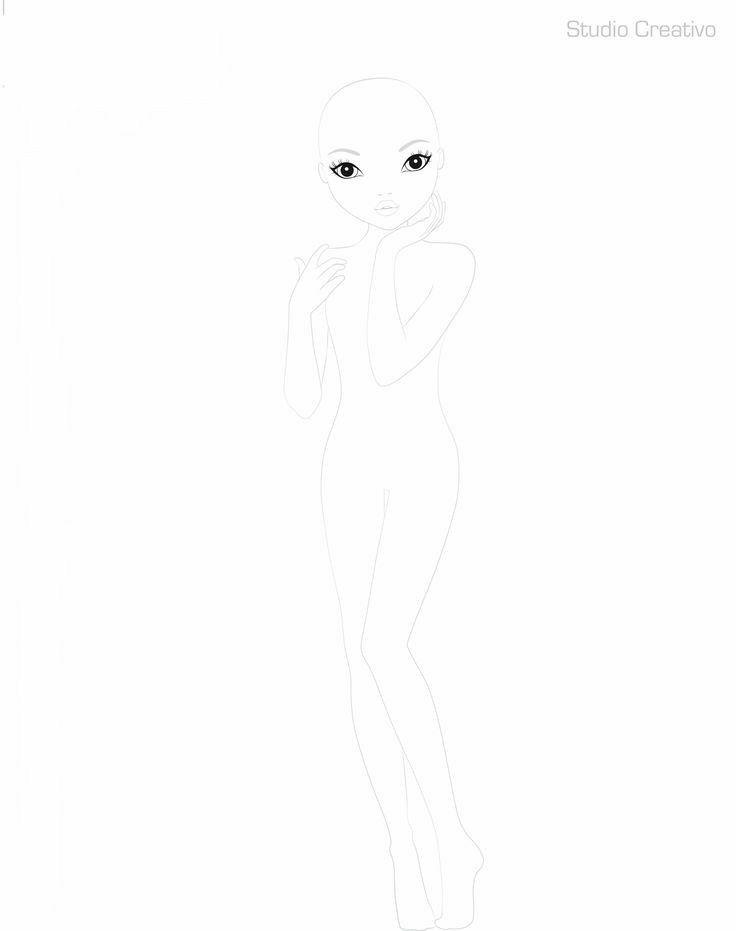 Pin Von Thatetherealangel Auf Malen Topmodel Biz Mode Design Vorlage Topmodel Ausmalbilder