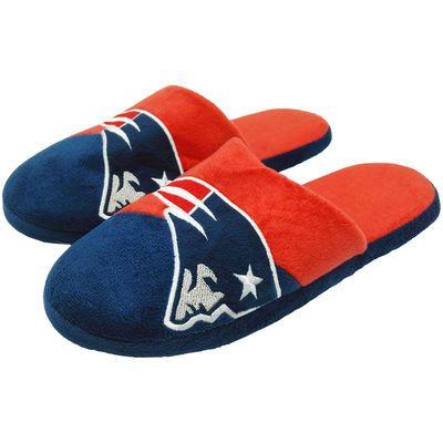 Men's New England Patriots Colorblock Slide Slippers
