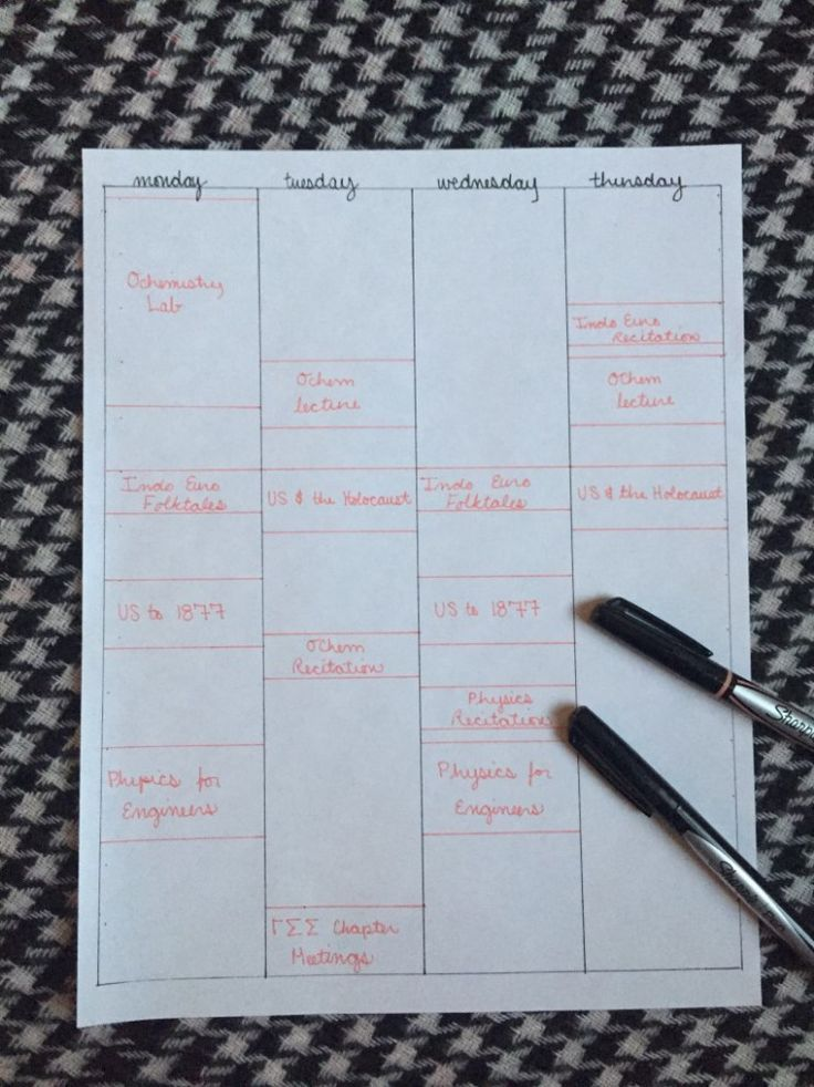 Best 25+ Schedule templates ideas on Pinterest Cleaning schedule - how to make an itinerary in word