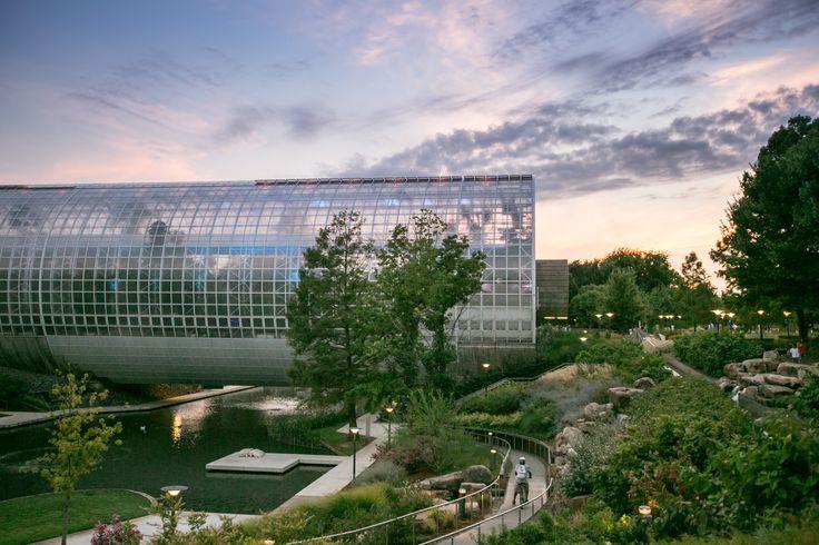 Myriad Botanical Gardens in Oklahoma City, OK (With images