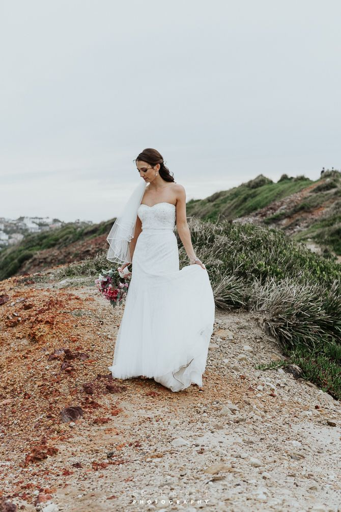 Long Reef Golf Course - wedding bride and groom