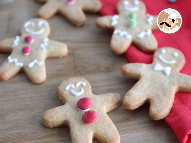 Biscuits sablés bonshommes - gingerbread men - Recette Ptitchef