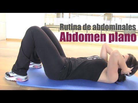 Rutina de abdominales: vientre plano.