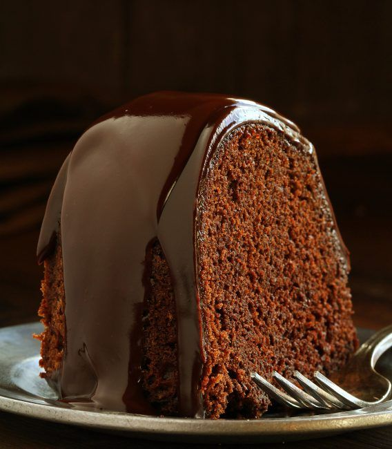 This delectable Chocolate Fudge Brownie Cake is the easiest chocolate cake I have ever made!