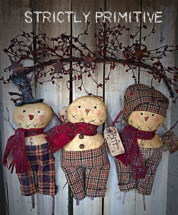 buy primitive decor online primitive snowmen primitive decor primitive christmas 10507