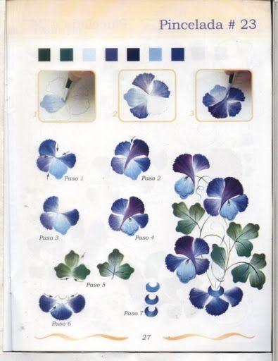 Рисуем цветы - senia One Stroke - Álbumes web de Picasa
