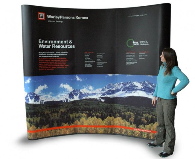 Worley Parsons - Booth Design for Globe Conference
