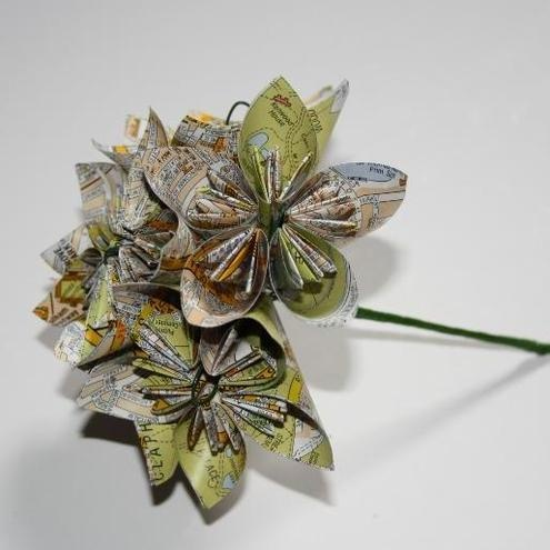 Unusual Origami Flowers with an A-Z £20.00