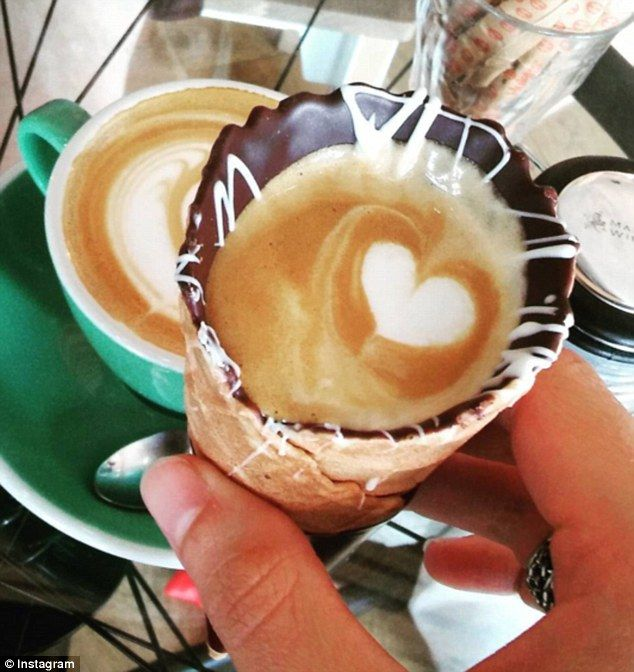 There's a WhatsApp hotline for takeaway orders from the coffee shop for an urgent coffee cone crisis