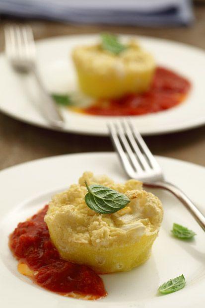 #Sformatini di #cavolfiore con salsa di #pomodoro || #Cirio, gusta le nostre…