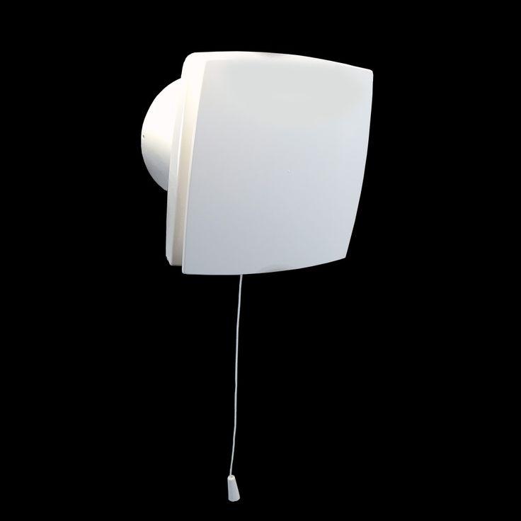 ventilátor Dalap BFL přední pohled - http://www.ventilatory.cz/ventilator-s-prednim-panelem-a-casovym-spinacem-_ventilator_-2007.html