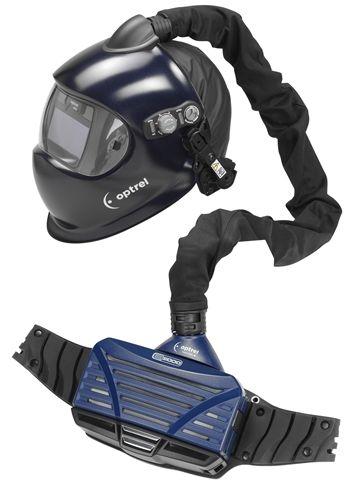 Optrel Expert E680 Auto-Darkening Welding Helmet w e3000 PAPR System