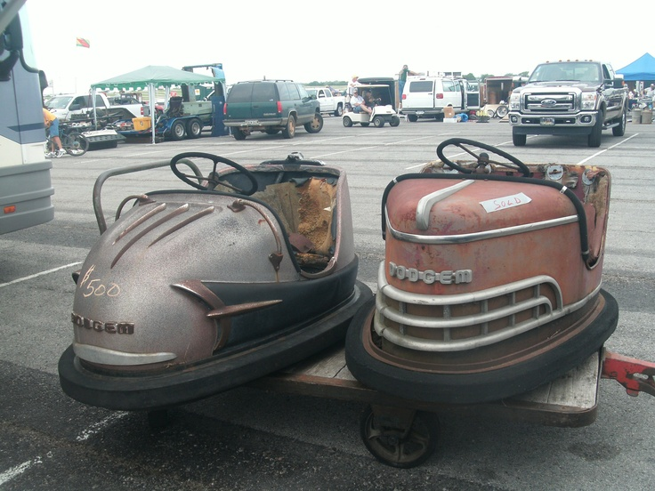 Oh how I loved those old bumper cars.