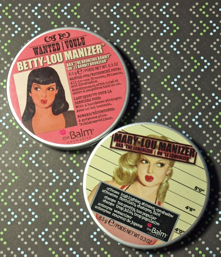 The Happy Sloths: The Balm Betty-Lou Manizer & Mary-Lou Manizer Review and Swatches