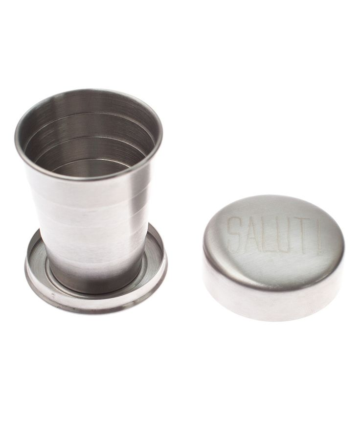 Izola's stainless steel collapsible travel cups are the perfect companion for travelling or hanging out with friends. | huntingforgeorge.com