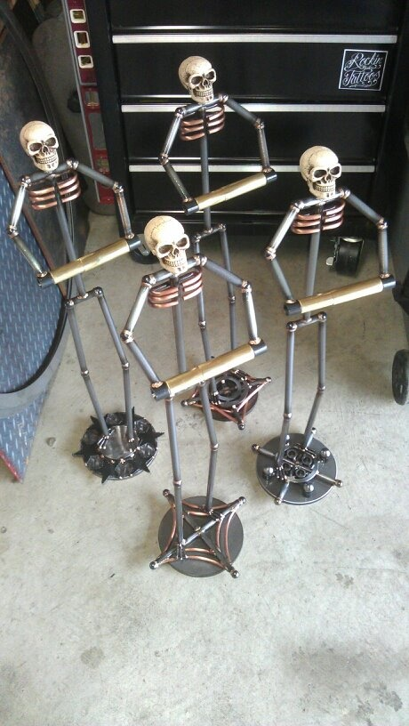162 best images about welding projects on pinterest sculpture metal sculptures and punisher skull - Simple metal art projects ...