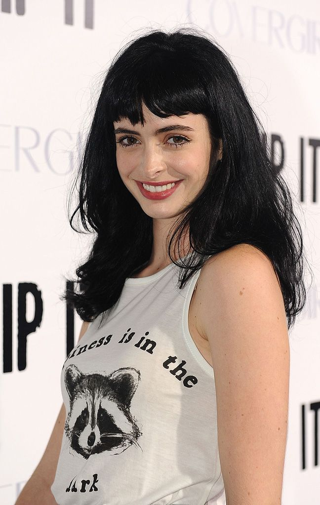 krysten ritter...I actually cried more when her character died of drug OD then at any other death that occured in Breaking Bad. I liked her.