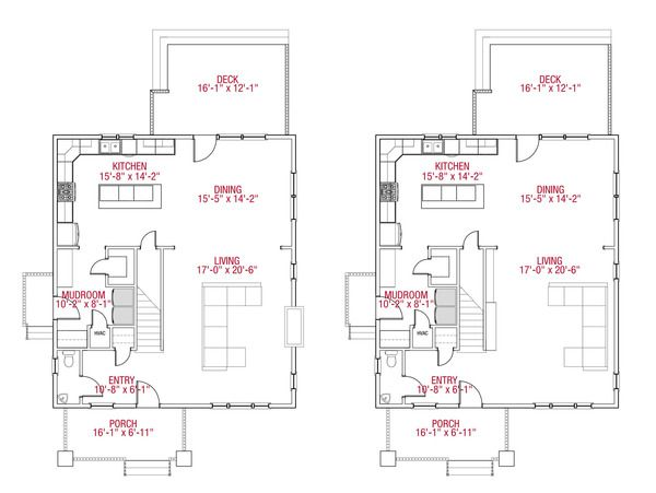 Craftsman Style House Plan 3 Beds 2 5 Baths 2071 Sq Ft Plan 461 51 Craftsman Style House Plans House Plans Floor Plan Design
