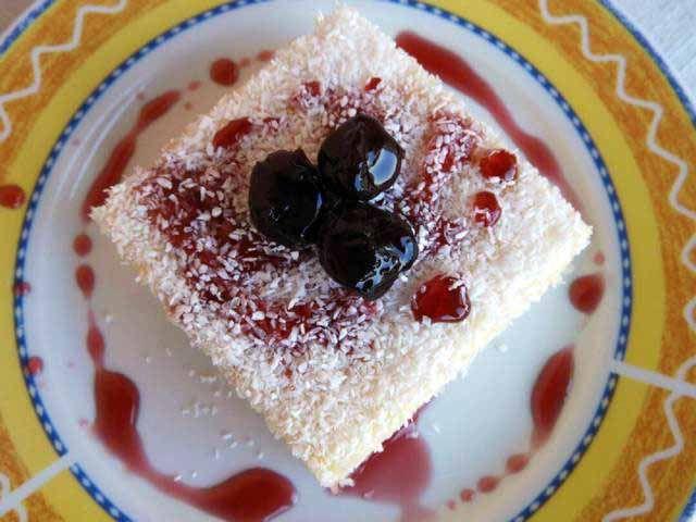 Σιμιγδαλένιο το εξωτικό #cookpadgreece #simigdalenio #karida