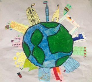 Ολοήμερο Νηπιαγωγείο Ποταμιάς - Παίζουμε σχολείο;: Αποστολή στα μνημεία του κόσμου (κλασικό τμήμα)