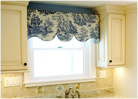 French Country Window Treatments Treatment Dresses Up The Kitchen S Which Looks