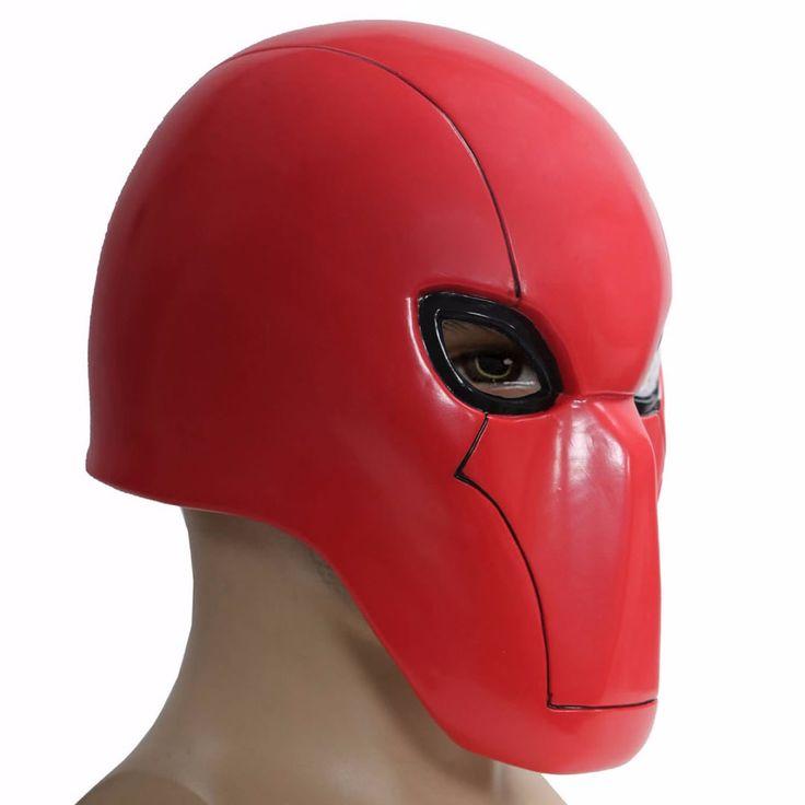 Capucha roja Casco Batman Bajo la Capucha Roja Cosplay Xcoser PVC Apoyos de la Máscara de Cabeza Completa en Accesorios disfraces hombre de Novedad y de Uso Especial en AliExpress.com | Alibaba Group