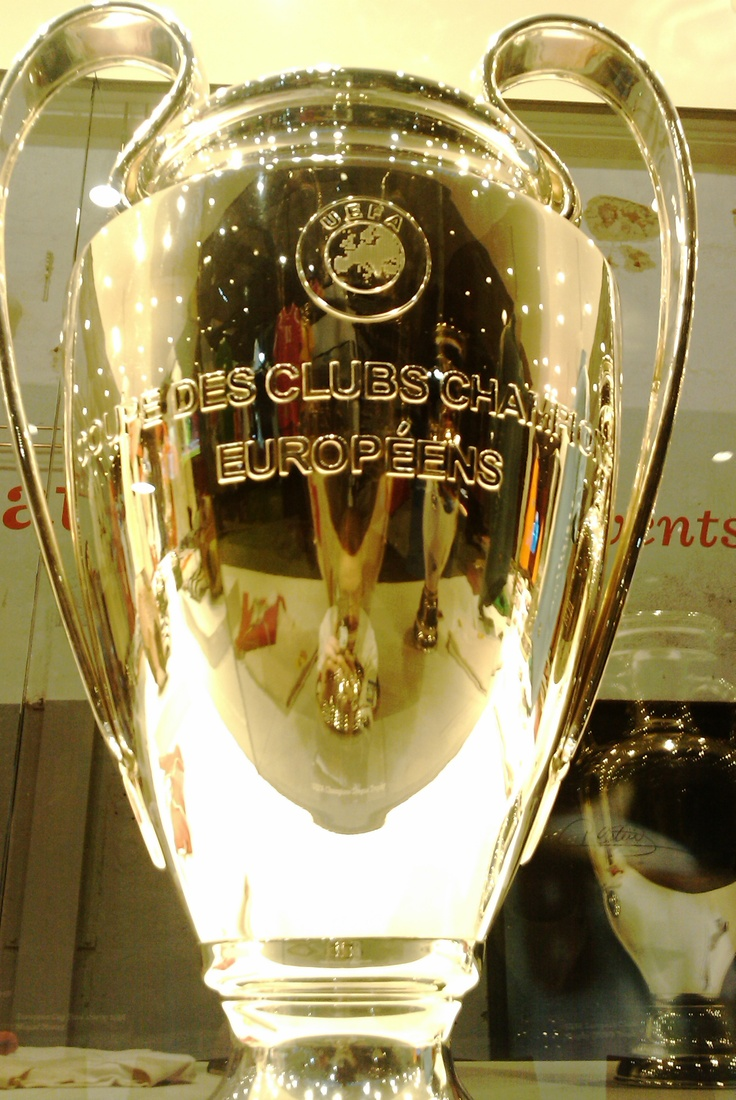 Champions League Trophy was here