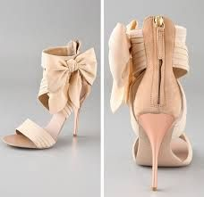 Nude shoes all the way...