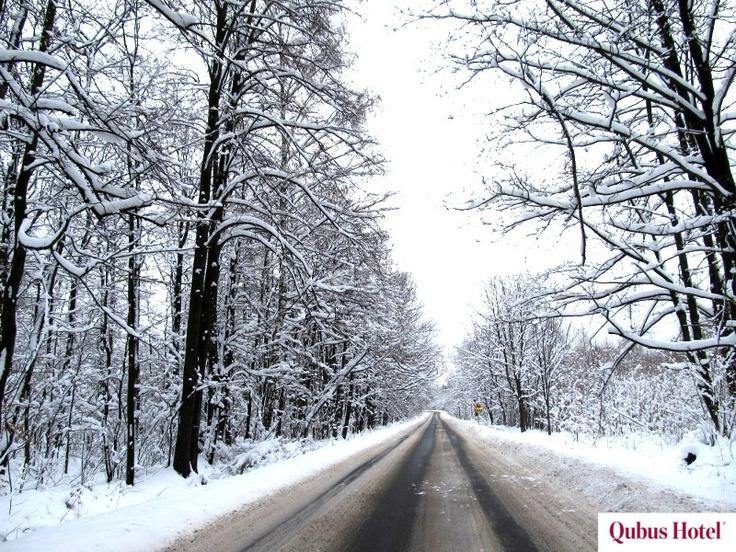 Mountain roads to Qubus Hotel Wałbrzych