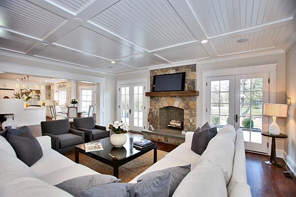 Family Room - Staging by @meridithbaer