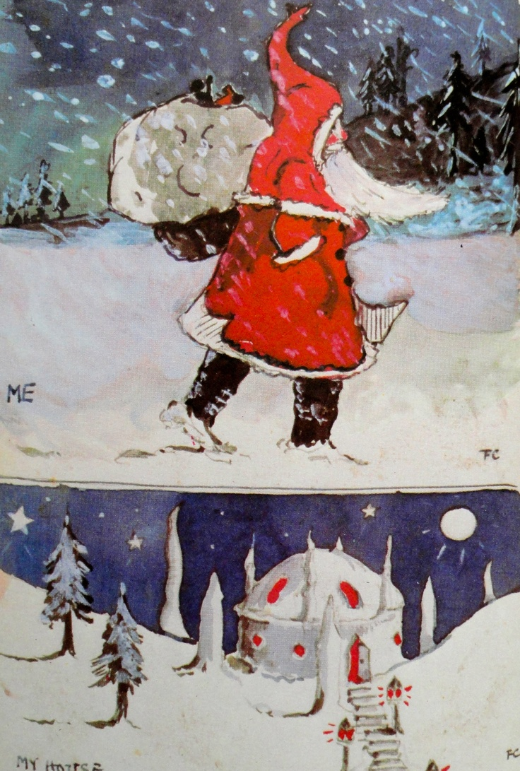 J.R.R.Tolkien illustration from the Father Christmas Letters