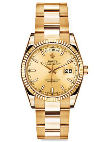 Do I regret telling my parents not to get me a rolex as a college graduation present?....Yes.