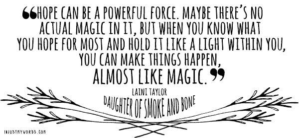 Laini Taylor, Daughter of Smoke and Bone