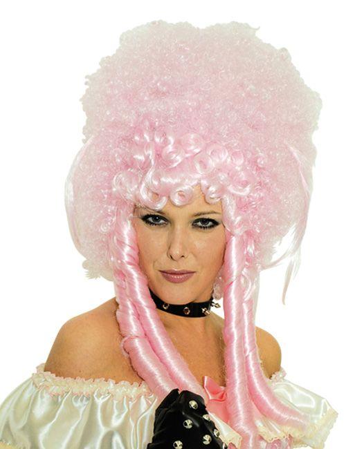 Barock Perücke rosa - Artikelnummer: 448143000 - ab 19.99EURO - bei Karneval-Megastore.de!