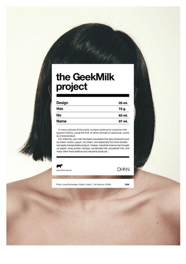 I love a good hidden face. #poster #modern