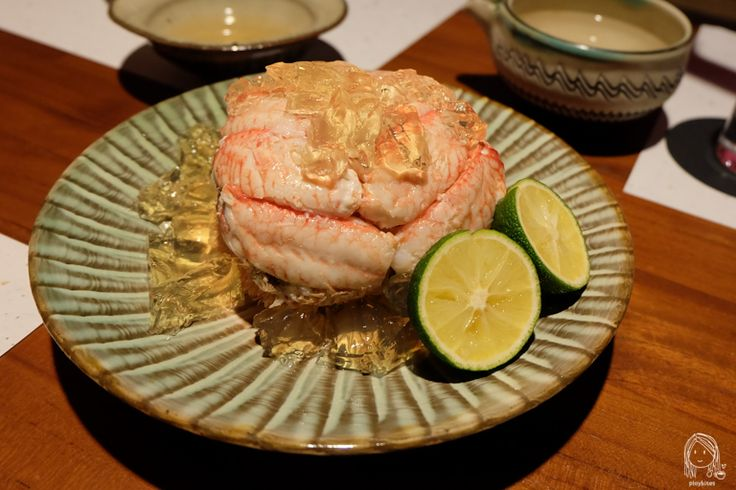 Nagahori - Michelin 1 star Izakaya in Osaka - King Crab with Jelly