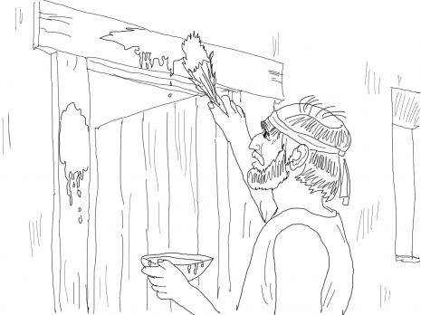 moses death coloring pages - photo#12
