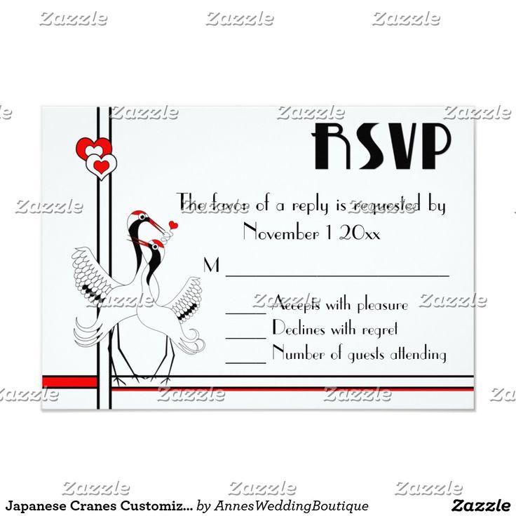 Japaner streckt kundengerechte UAWG 8,9 X 12,7 Cm Einladungskarte