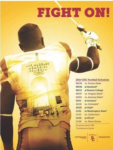 USC Trojans football 2014!!