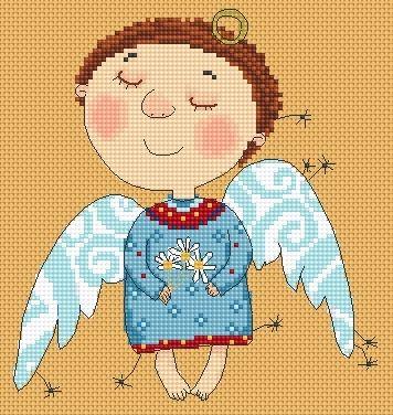 Mini Angel in Training Daisy - The Pretty One