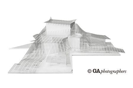 『STUDY MODELS KAZUYO SEJIMA / RYUE NISHIZAWA / SANAA』イメージビジュアル ©GA photographers