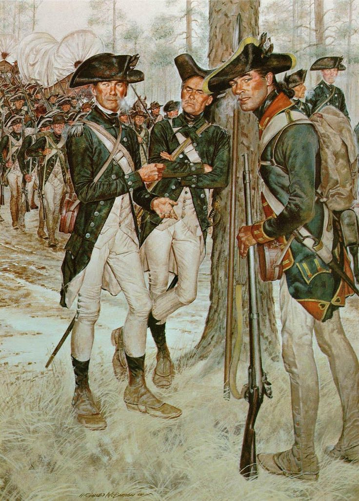 American revolution and northern colonists