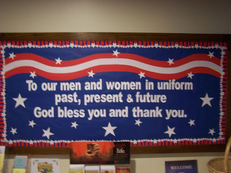 memorial day bulletin board themes