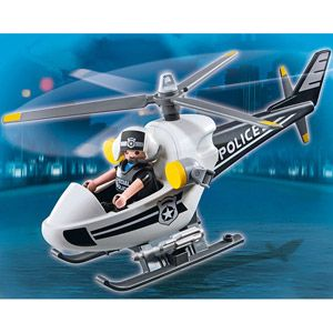 Helicoptere monoplace de police - 5916
