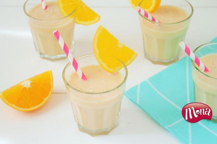 Proef de zomer met deze frisse sinaasappel açaí smoothie!