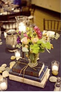 this might be for a wedding, but I would be perfectly content just having this on every surface in my home.