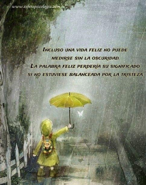 #Jung #lluvia #inspiración #tristeza #psicologia