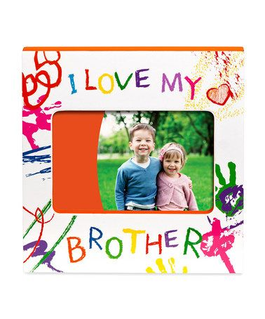 Love this 'I Love My Brother' Frame on #zulily! #zulilyfinds