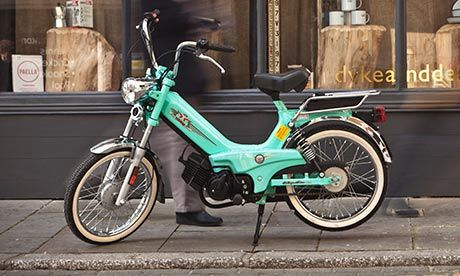 Tomos XL 45 Classic: admit it, you are dying for a ride on one of these.