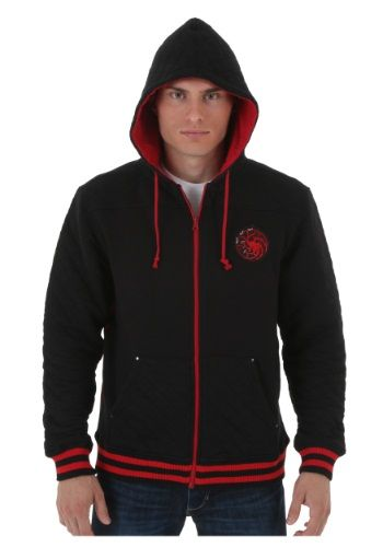 #GOT Game of Thrones Targaryan Costume Character Hoodie. Check it out now @HalloweenCostumes! #Promotion